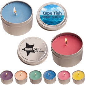 Candles in Round Tin (4 Oz.)