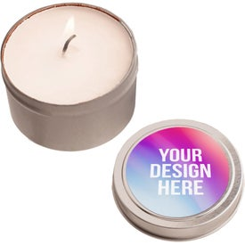 Candles in Round Tin (2 Oz.)