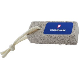 Ceramic Pumice Stone with Cotton Cord