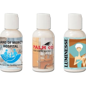 Unscented Hand and Body Lotions with Press-Top Bottle (2 Oz.)