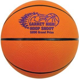 Mini Rubber Basketball
