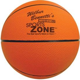 Full Size Rubber Basketball