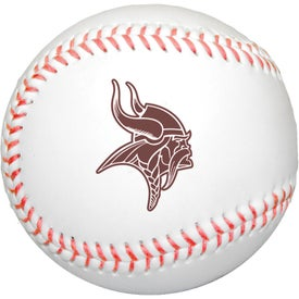 Synthetic Leather Baseballs with Rubber Core