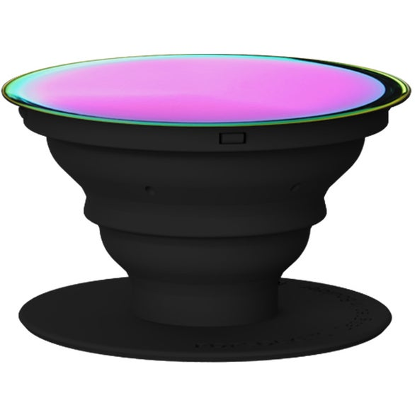 Black Iridescent PopSocket Grip Stand