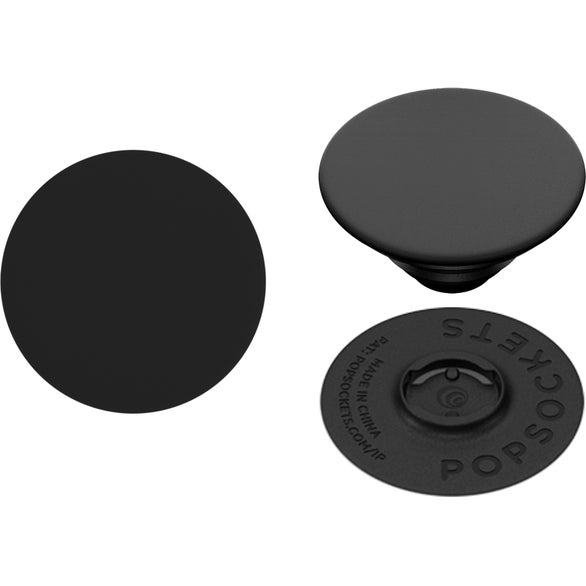 Black Swappable PopSockets Grip