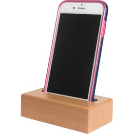 Wooden Block Phone Holders