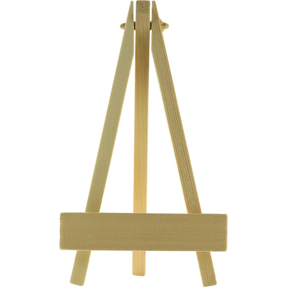 Tan Wooden Easel Phone Holder