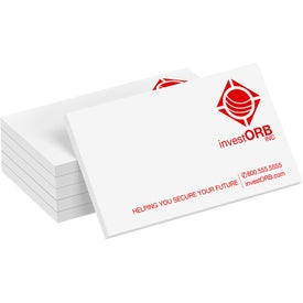 "Business Card Size Note Pad Set (2"" x 3-1/2"", 50 Sheets)"
