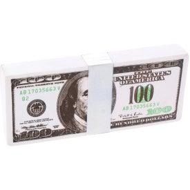 Customized $100 Bill Stress Reliever