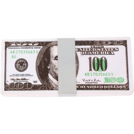 Printed $100 Bill Stress Reliever