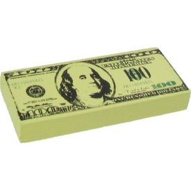 Personalized $100 Bill Stress Ball