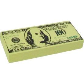 Personalized $100 Bill Stress Ball