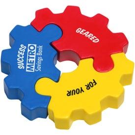 3 Piece Gear Puzzle Stress Ball