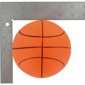 "4 1/2"" Basketball Stress Reliever for Your Organization"