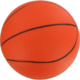 "4 1/2"" Basketball Stress Reliever Giveaways"