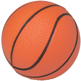 "4 1/2"" Basketball Stress Reliever"