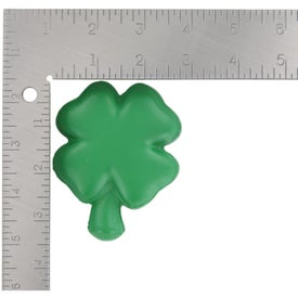 4-Leaf Clover Stress Ball with Your Slogan