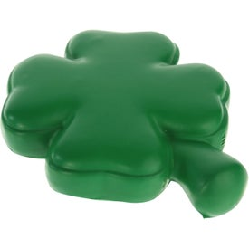 4-Leaf Clover Stress Ball with Your Logo