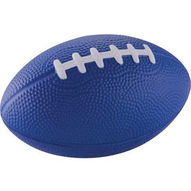"Logo 5"" Football Stress Reliever"