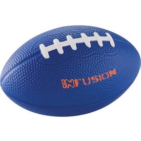 "Custom 5"" Football Stress Reliever"