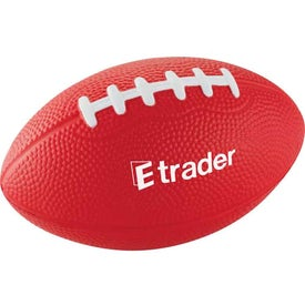 "5"" Football Stress Reliever Branded with Your Logo"