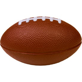 Printed Large Football Stress Ball