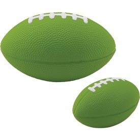 Monogrammed Large Football Stress Ball