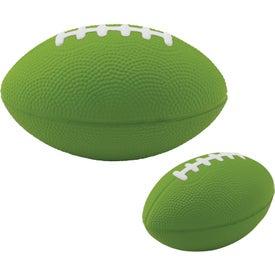 Monogrammed Large Football Stress Ball