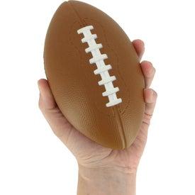 Custom XL Football Stress Reliever