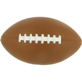 Printed XL Football Stress Reliever
