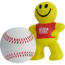 Baseball Stress Ball with Your Logo