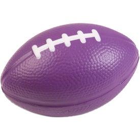 Printed Football Stress Ball