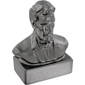 Advertising Abraham Lincoln Bust Stress Ball