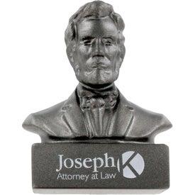 Abraham Lincoln Bust Stress Ball for Customization