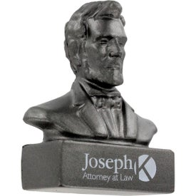 Abraham Lincoln Bust Stress Ball Giveaways