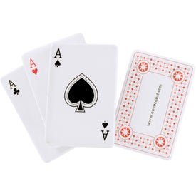 Ace Playing Card Stress Reliever for Marketing