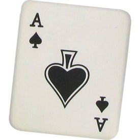 Ace of Spades Stress Ball for Marketing