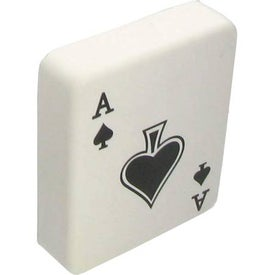 Ace of Spades Stress Ball Imprinted with Your Logo