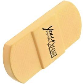 Adhesive Bandage Stress Ball Giveaways