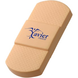 Adhesive Bandage Stress Ball for Your Organization