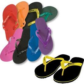 Personalized Adult Flip Flops