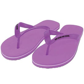 Adult Flip Flops for Customization