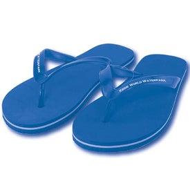 Customized Adult Flip Flops