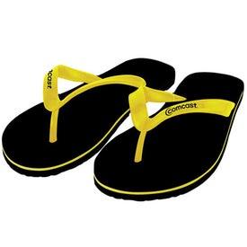 Branded Adult Flip Flops