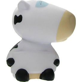 Advertising Cow Stress Ball with Your Slogan
