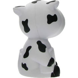 Logo Advertising Cow Stress Ball