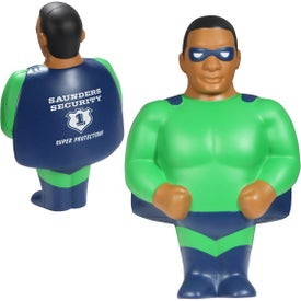 African American Super Hero Stress Ball