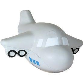 Monogrammed Airplane Stress Reliever