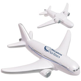 Airliner Stress Ball Branded with Your Logo