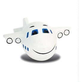 Monogrammed Large Airplane Stress Ball